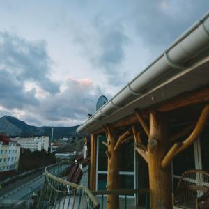 вид с балкона номеров люкс
